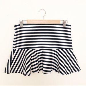 Forever 21 Nautical Stripes Skirt